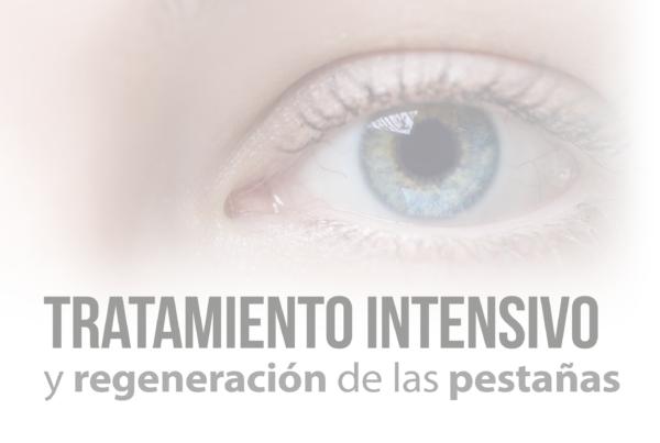 Tratamiento intensivo y regeneracion de las pestañas