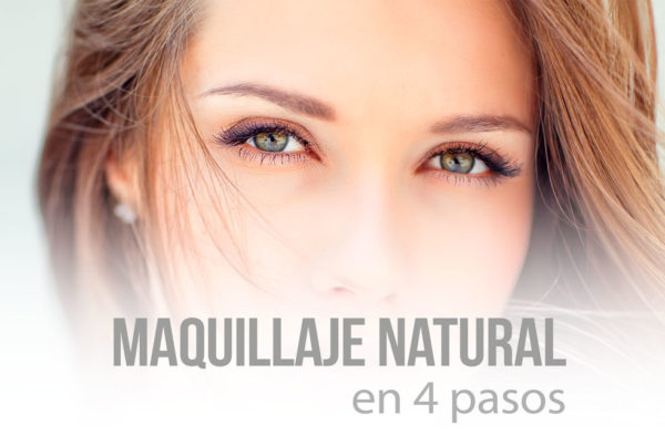 Ojos maquillaje natural
