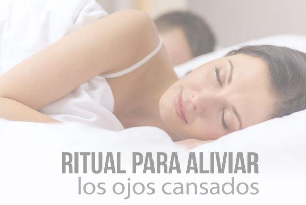 Ritual para aliviar ojos cansados