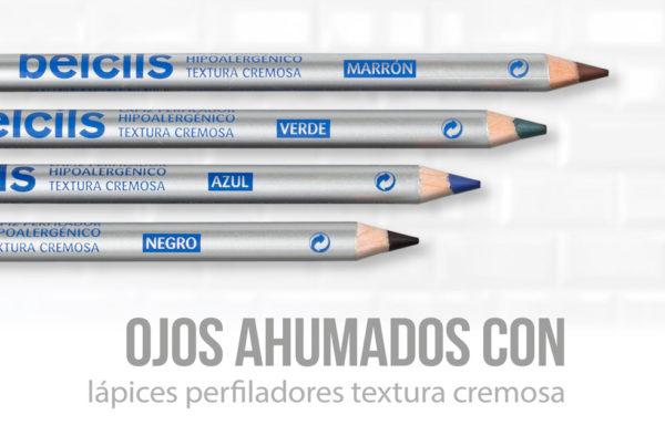 LÁPICES PERFILADORES HIPOALERGÉNICOS DE OJOS TEXTURA CREMOSA
