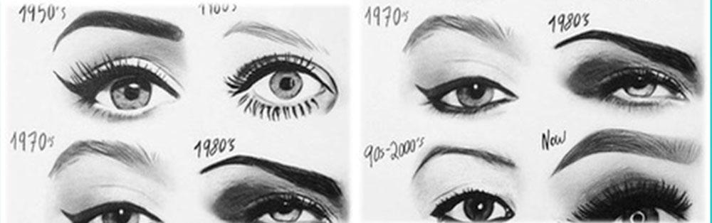 Evolución de las cejas