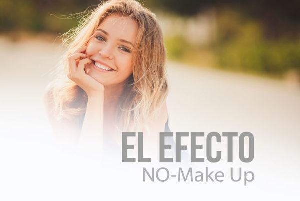 El efecto no makeup